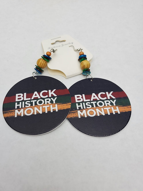 Black History Month Earrings