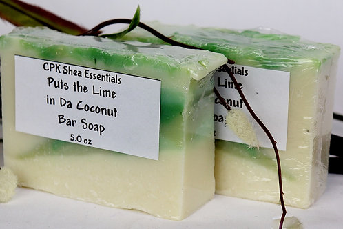 Puts the Lime in da Coconut Soap 5.0 oz