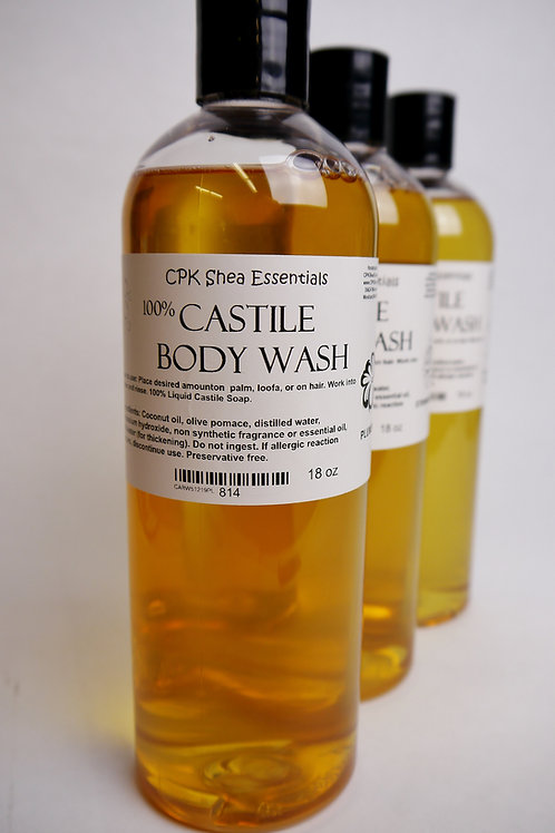 SALE! Castile Body Wash Discontinued Fragrances