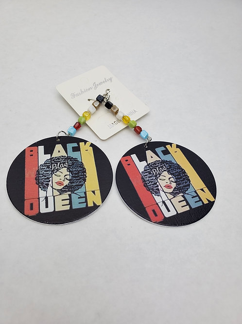 Black Queen Earrings