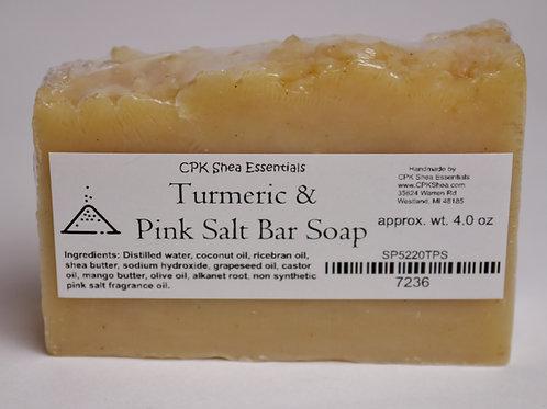 Turmeric & Pink Salt Soap 4.0 oz