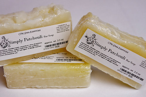 Simply Patchouli Soap 3.5 oz