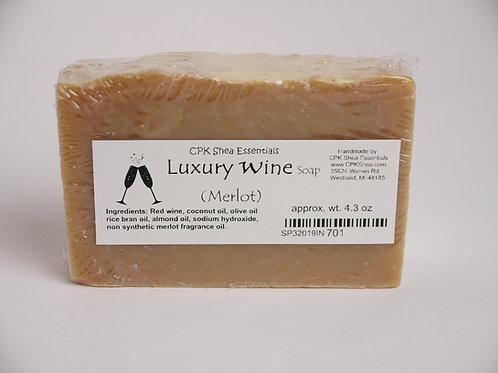 Luxury Wine Soap (Merlot) 4.3 oz
