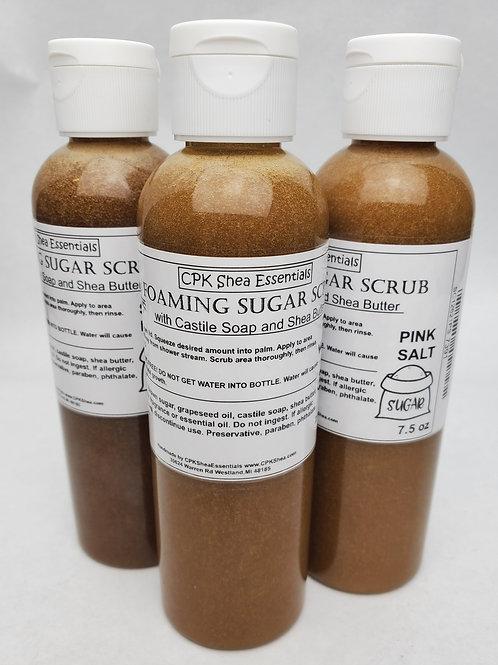 Foaming Brown Sugar Scrubs 7.5 oz