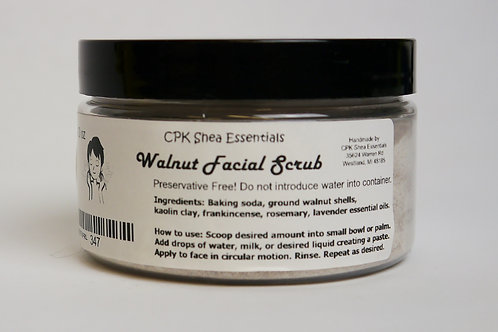 Walnut Facial Grains 4.0 oz