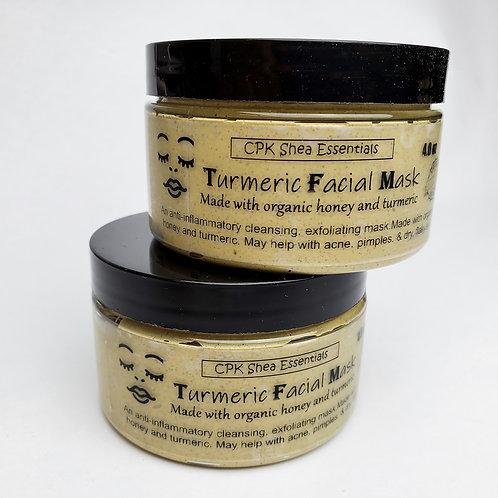 Turmeric Facial Mask 4 oz