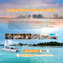 Southern Island Sunset Yacht Tour (Sento