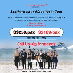 Southern Islands Dive Yacht Tour