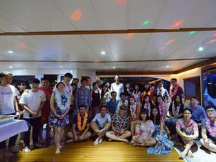 Hawaiian Yacht Party