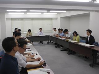 大田区福祉部との懇談会