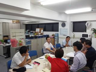 9月の運営委員会