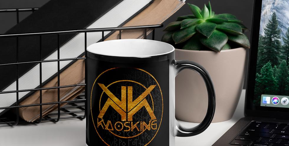 KaosKing Logo Glossy Magic Mug