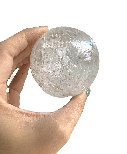 High Grade Lemurian Crystal Sphere