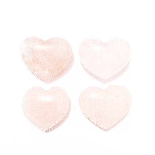 Rose Quartz Heart-Small.