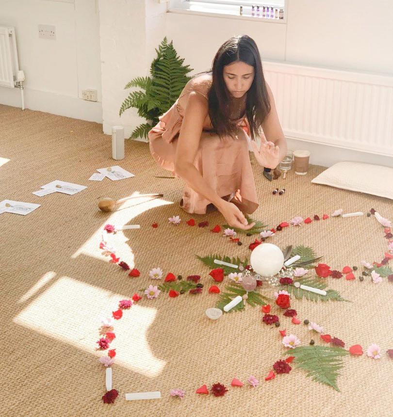 Womens Womb healing circle-with Carnelian