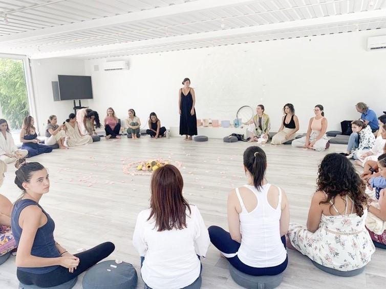 Crystal 101 workshop at Sacred Space in Miami