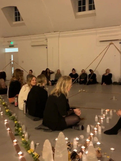 Behind the scenes at my Pyramid power event in London