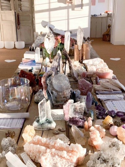 Crystal Pop up store - Oxfordshire