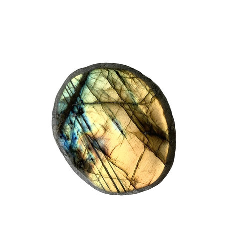 Labradorite Part Polished.