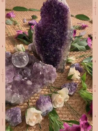 Amethyst Crystal workshop