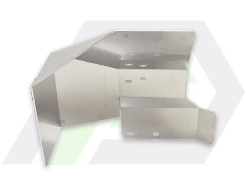 Evo X Firewall Heat Shield