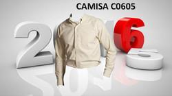 CAMISA EMPRESARIAL OXFORD MOD. C0605