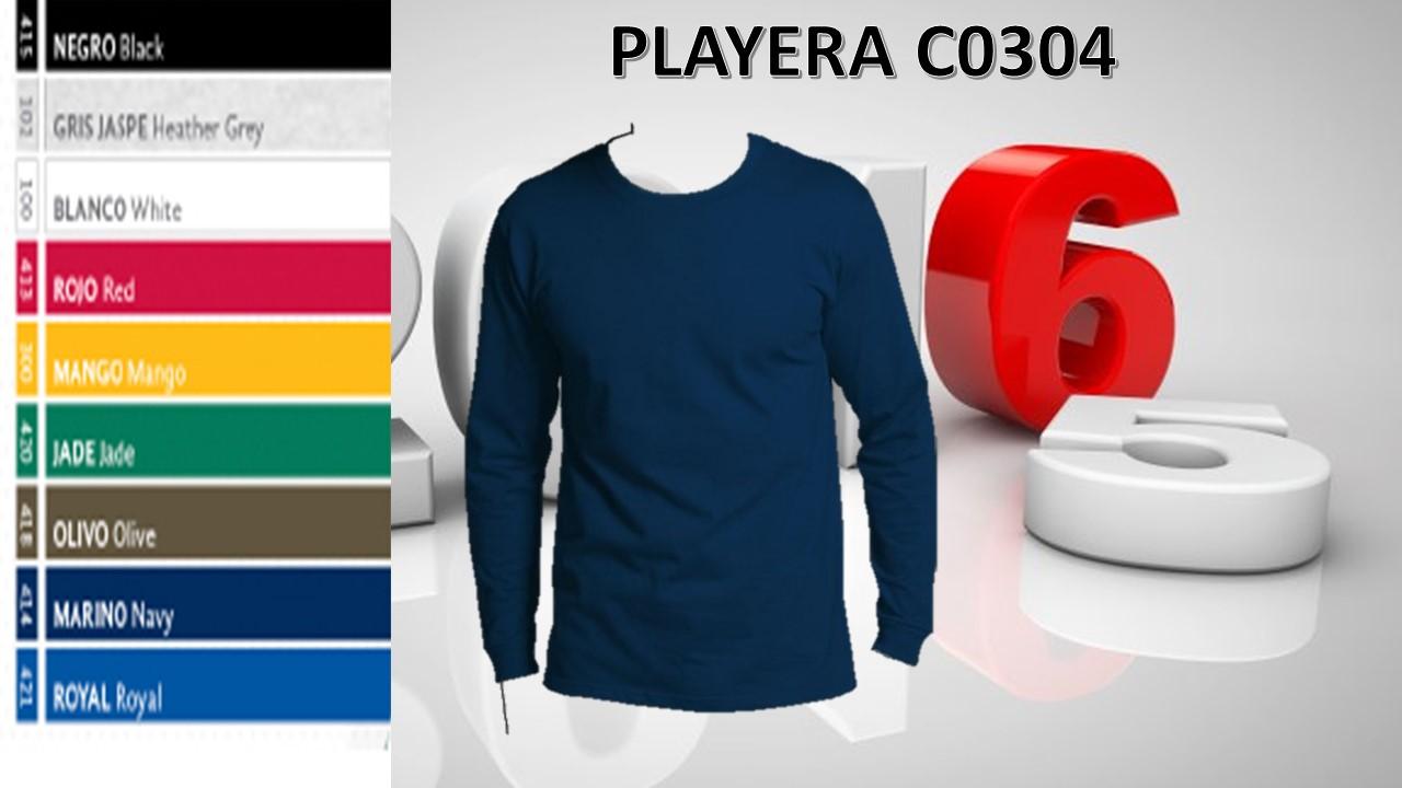 PLAYERA M.L MOD. C0304