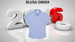 BLUSA OXFORD MC. MOD. F0604