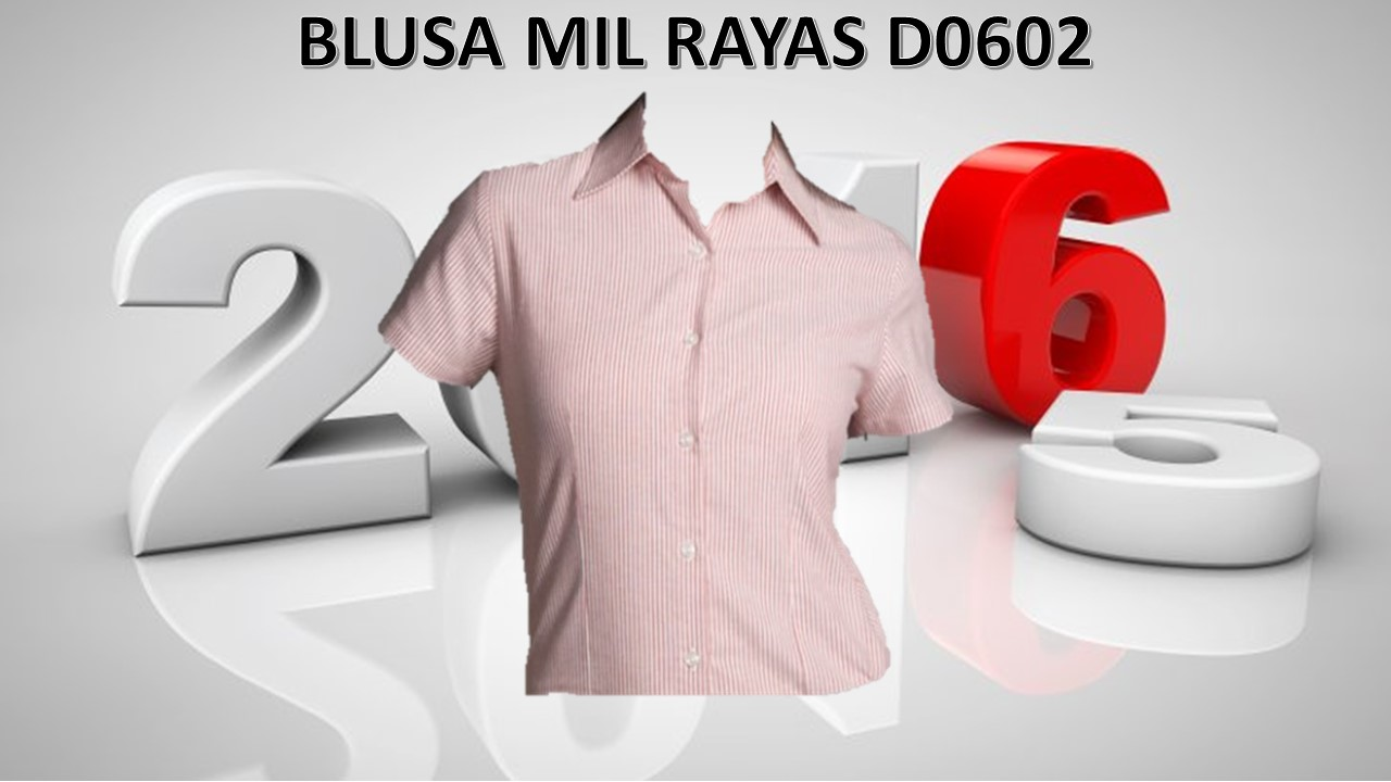 BLUSA EMPRESARIAL MOD. D0602