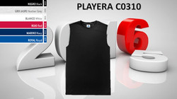 PLAYERA CABALLERO MOD. C0310