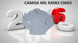 CAMISA MIL RAYAS MOD. C0603