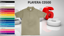 PLAYERA CABALLERO MOD. C0500