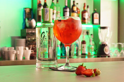 Strawberry Gin&Tonic with G'Vine