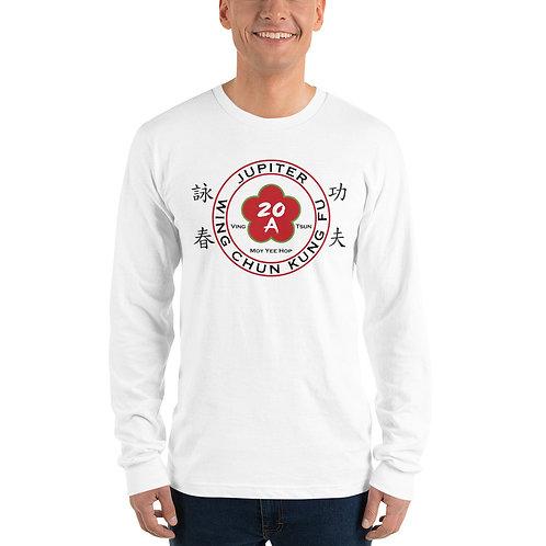 Jupiter Wing Chun White Long sleeve t-shirt