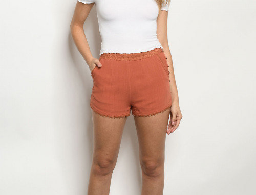 Remy Shorts - Rust