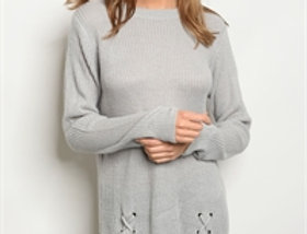Leah Sweater - Gray