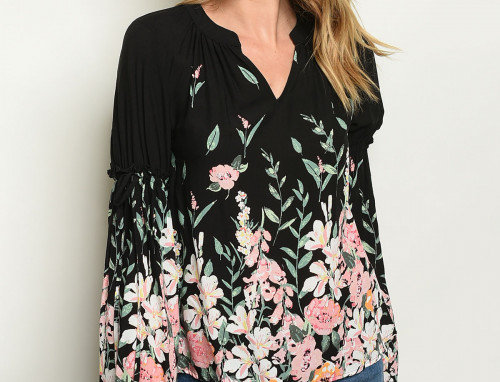 Florence Floral Top