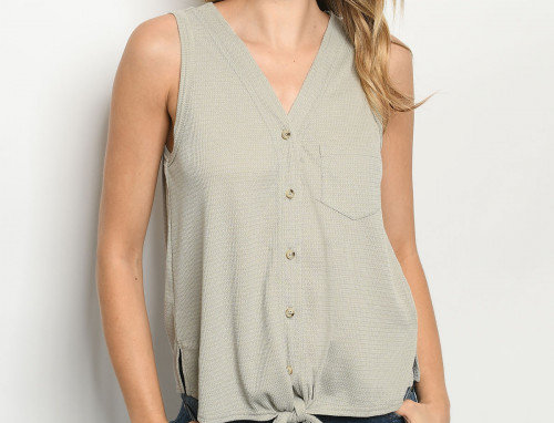 Zuri Top - Gray