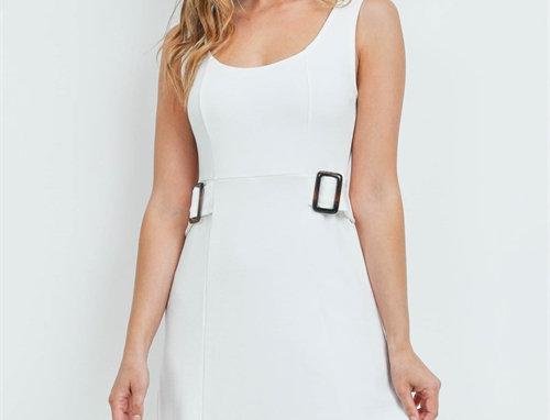 Fleur Dress - White