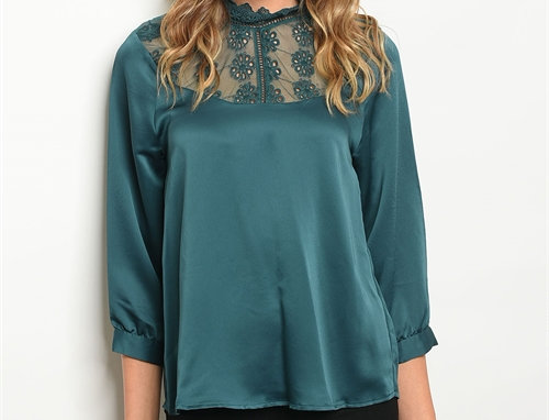 Ava Satin Blouse