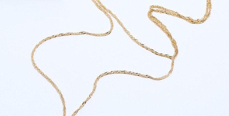 Triangle Drop Shape Necklace
