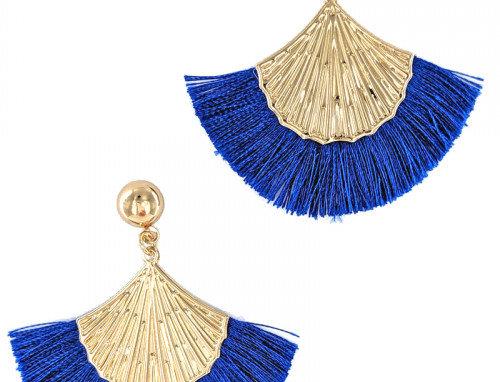 Verl Earrings - Blue