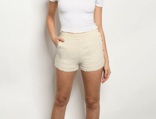 Remy Shorts - Oatmeal