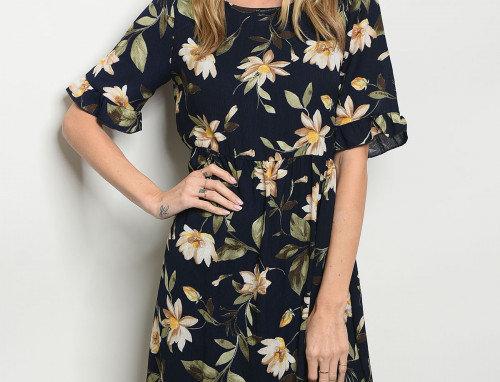 Angela Floral Dress
