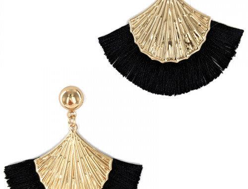 Verl Earrings - Black