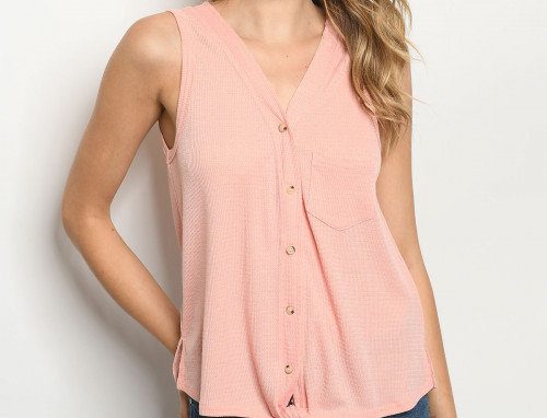 Zuri Top - Blush