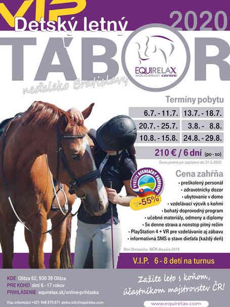 VIP DEtský letný tábor s koňmi
