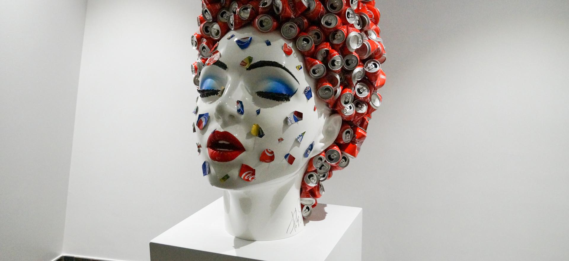 Explosed Can - Sculpture