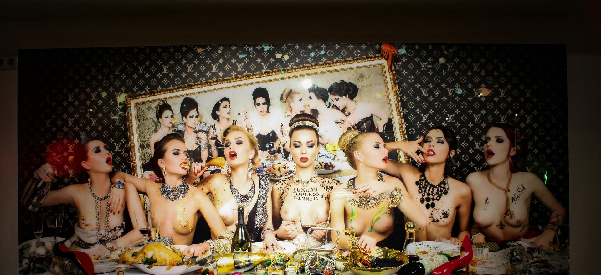 Luxury Topless Dinner