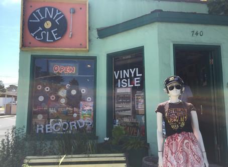 Record Shop Tour -Vinyl Isle, Morro Bay, CA